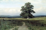 Ivan Ivanovich Shishkin (1832  1898)   Among the flat valley   Oil on canvas, 1883